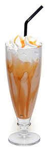 Bourbon Caramel Milkshake