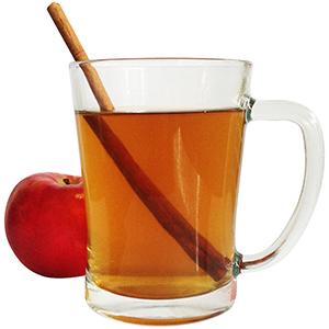 Warm Caramel Apple Bourbon Cocktail