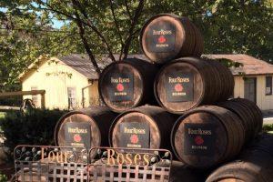 Four Roses Bourbon Barrels